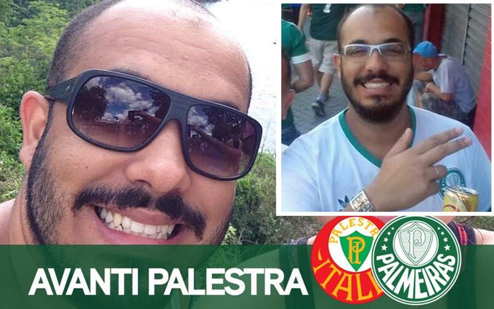 Leonardo Passos era torcedor do Palmeiras e foi ver o jogo contra a Chapecoense (Foto: Reprodução/Facebook/Leonardo Passos)