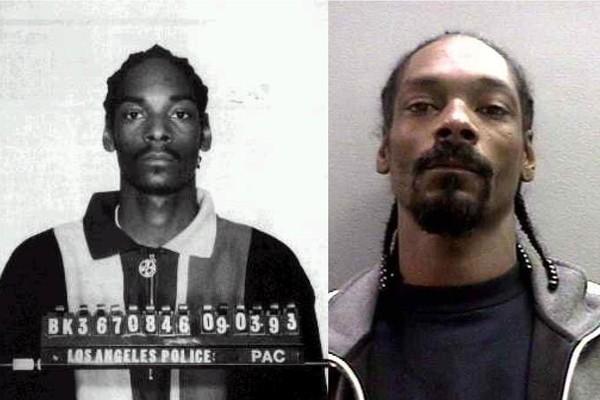 Snoop Dogg em 1993 e 2006 (Foto: Reprodução)