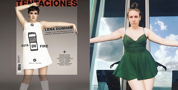 Lena Dunham (Foto: Instagram)
