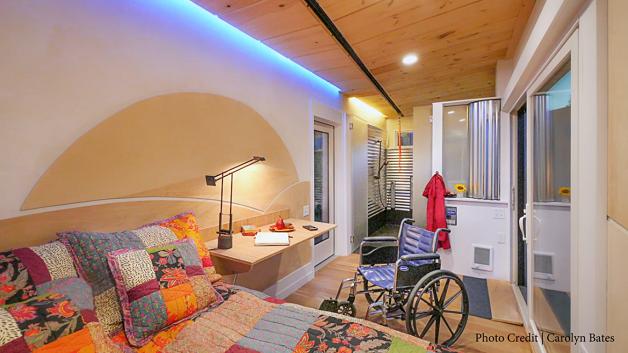 As casas podem ser adaptadas de acordo com as vontades e necessidades do morador (Foto: Reprodução/ Youtube)
