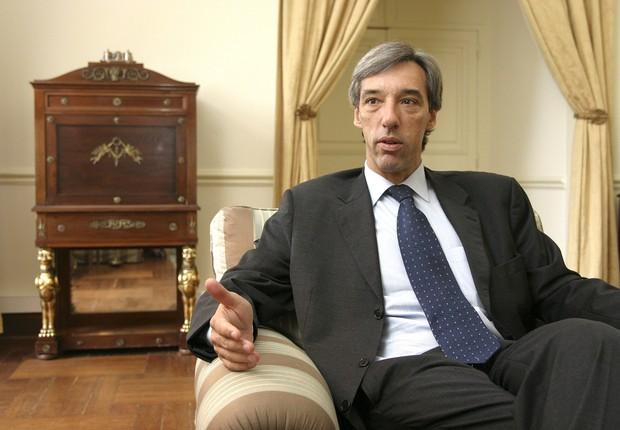 O embaixador do Brasil para a União Europeia, João Gomes Cravinho (Foto: Maria de Lurdes Feio)