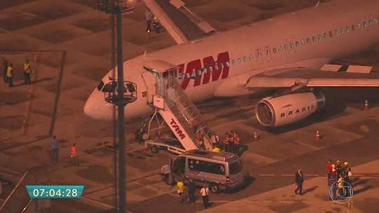 Manutenção do avião estava 'em dia', diz diretor da Latam