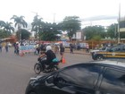 Manifestantes interditam BR-316 perto da prefeitura de Ananindeua