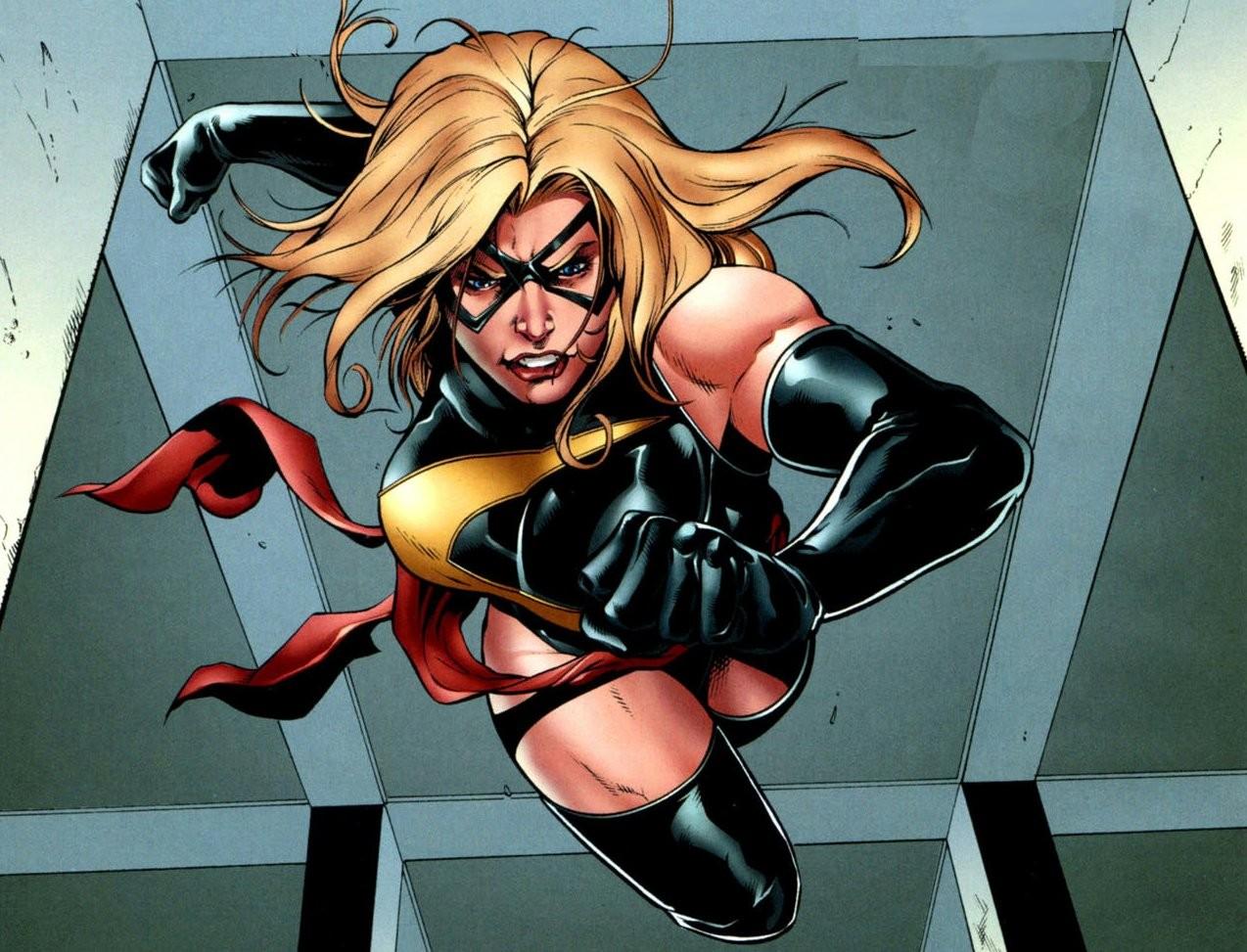 Capitã Marvel deve ser a primeira heroína da Marvel a ganhar um filme solo (Foto: Reprodução/Marvel)