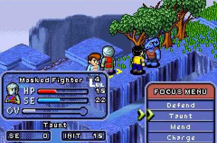 Yu Yu Hausho teve jogo no estilo Final Fantasy Tactics no GBA (Foto: Reprodução/Nintendo Everything)