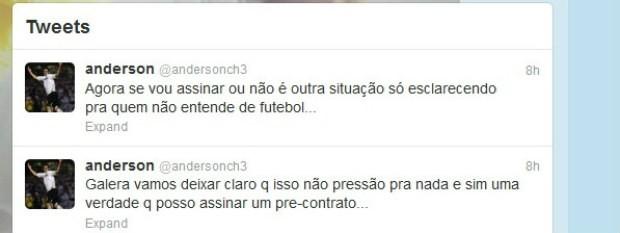 Chicão Corinthians (Foto: reprodução / Twitter/ Chicão)