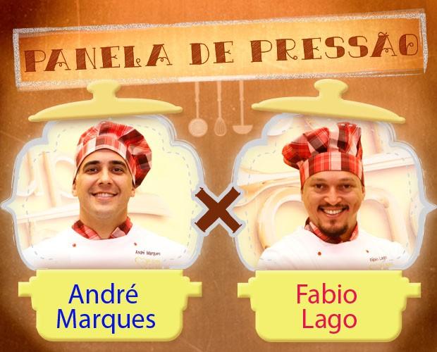 Panela de Pressão 5 Super Chef André e Fabio (Foto: Mais Você/ TV Globo)