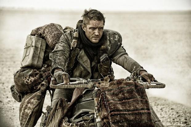 Tom Hardy em cena de Mad Max: Estrada da fúria (Foto: Divulgação)
