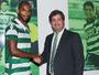 Naldo, ex-Udinese, é apresentado pelo Sporting; Teo perto do acerto
