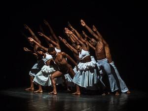 Espetáculo O Corpo na Cena , do grupo Lekan Dance. Bahia (Foto: Divulgação)