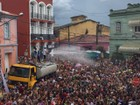Bloco dos 'Moiados' anima multidão no carnaval em Nazaré Paulista, SP