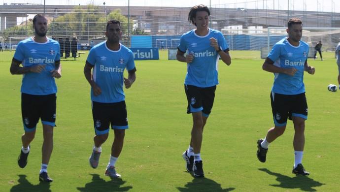 Fred Maicon Pedro Geromel Walace Grêmio (Foto: Eduardo Moura/GloboEsporte.com)