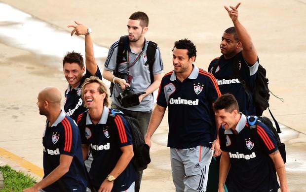 ffd4c1790b desembarque Fluminense (Foto  Marcos Ribolli   Globoesporte.com)