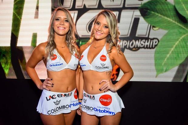 Amanda e Andressa, as gêmeas do BBB15 (Foto: Caio Duran / CDC Shows e Eventos / Divulgação)