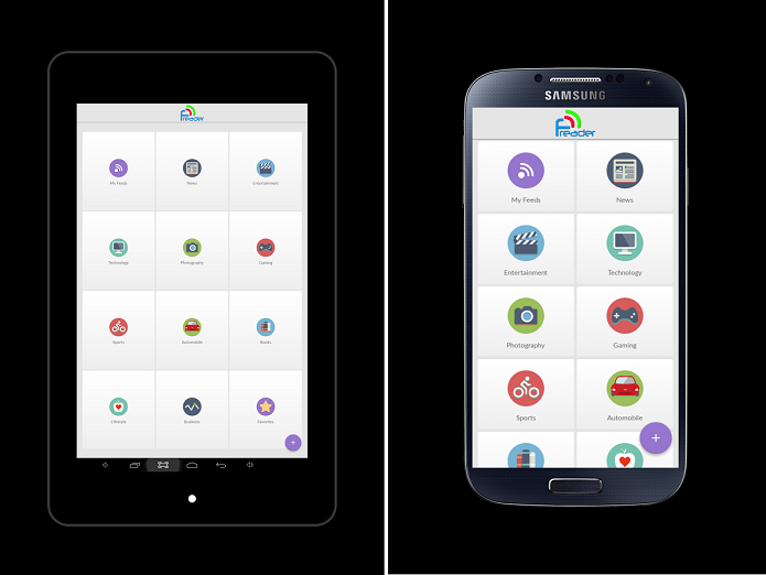 Freader é um leitor de feeds para Android (Foto: Divulgação)