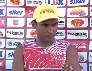 Ricardinho, atacante do Auto Esporte (Foto: Reprodução / TV Cabo Branco)