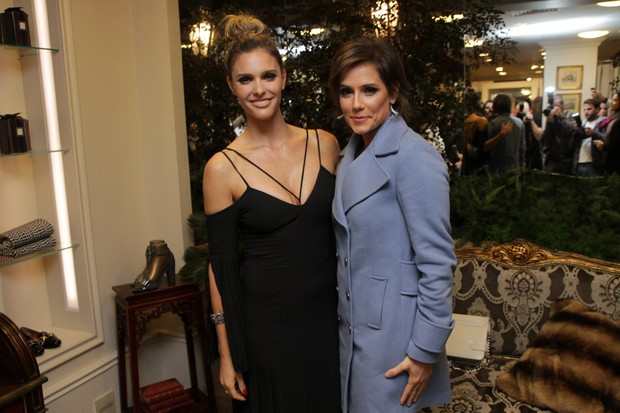 Fernanda Lima e Deborah Secco (Foto: Thiago Duran/AgNews)