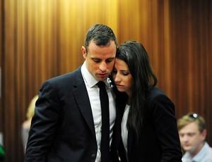Oscar Pistorius e Aimee julgamento (Foto: Agência Reuters)