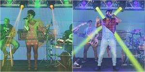 Bandas Fulano d'Tal e WFM (Foto: TV Sergipe)