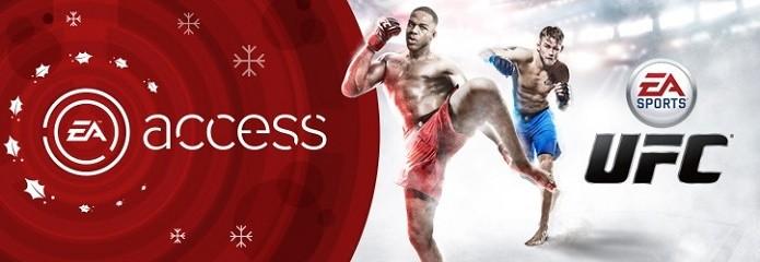 EA Sports UFC entrará para a lista de jogos do EA Access no dia 18 de dezembro (Foto: Divulgação)