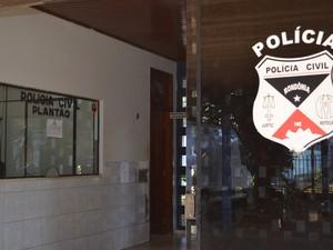 delegacia de vilhena (Foto: Aline Lopes/G1)