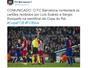 Barça confirma que recorrerá contra expulsão para ter Suárez em decisão