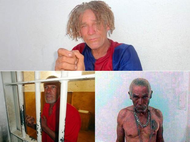 Homem conhecido como 'Diabo Loiro' passou a ser monitorado por moradores após ser solto' (Foto: Reprodução EPTV)