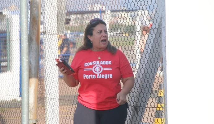 chegada Inter Porto Alegre (Foto: Eduardo Deconto/GloboEsporte.com)