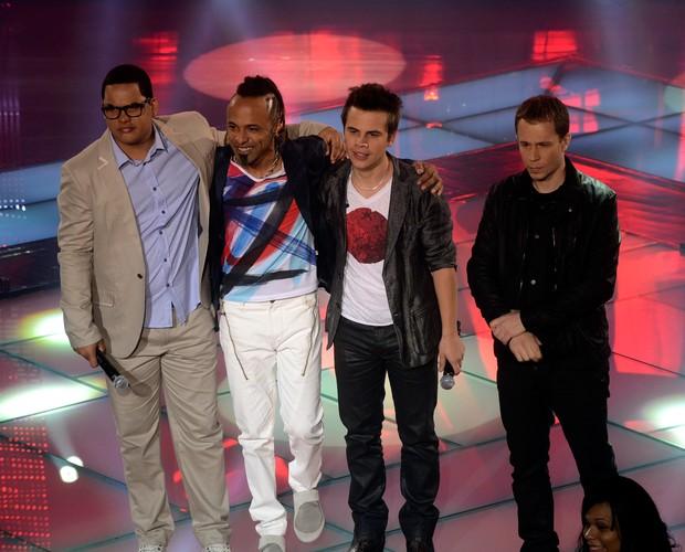 Vinny, Junior e Danilo (Foto: Rede Globo/The Voice)