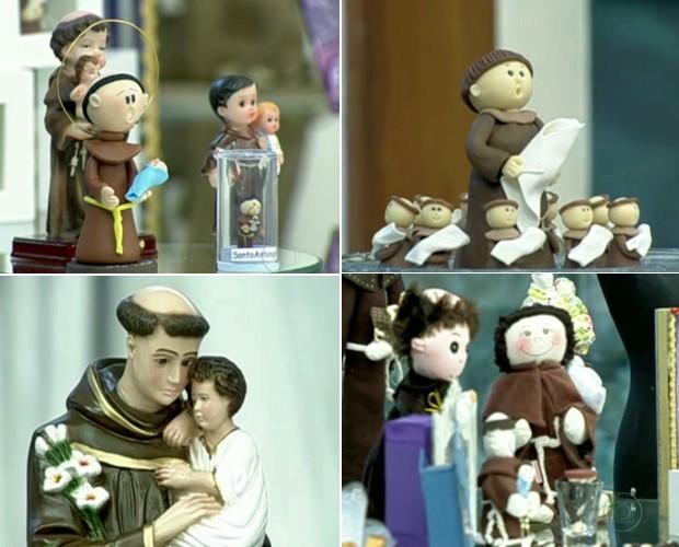 Faça simpatias de Santo Antonio para arranjar um namorado (Foto: Mais Você/TV Globo)