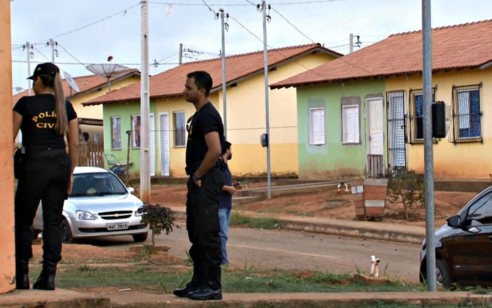 Terceira fase da Operação Lares ocorreu na manhã desta quinta-feira (12) em Rio Branco (Foto: Reprodução/Rede Amazônica Acre)