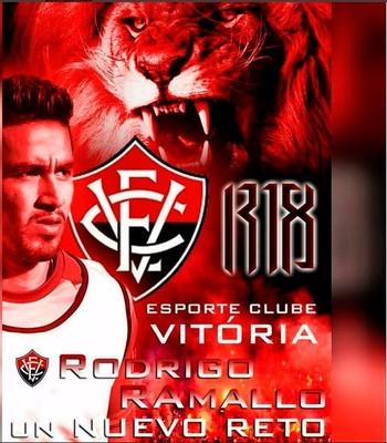 Rodrigo Ramallo; Vitória; Instagram (Foto: Reprodução)