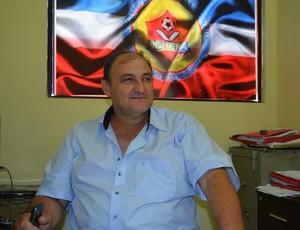 Vice-presidente do Vilhena, José Carlos Dalanhol (Foto: Jonatas Boni)