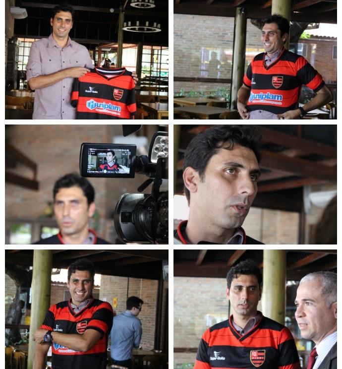 Athirson Flamengo-PI (Foto: Renan Morais)
