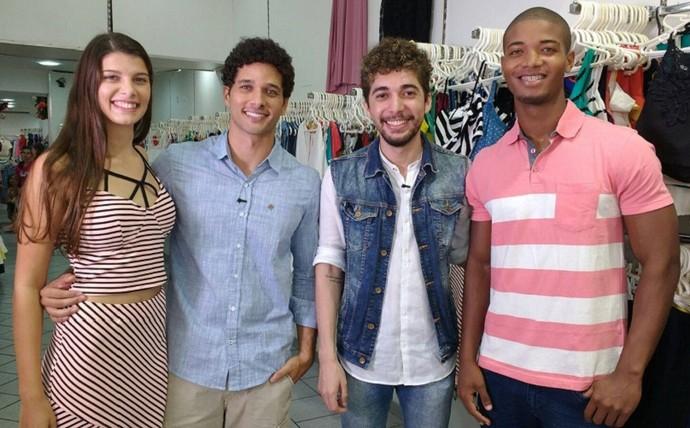 Desafio de moda no Combinado (Foto: TV Sergipe)