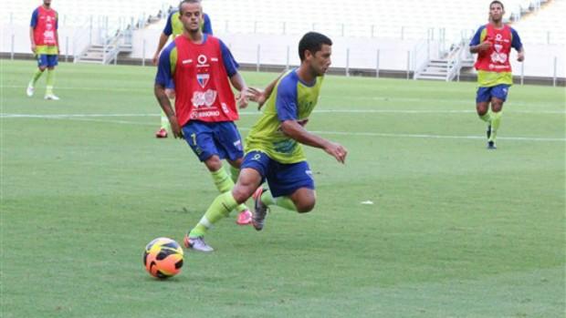 Fortaleza treina na Arena Castelão (Foto: Divulgação/Fortaleza)