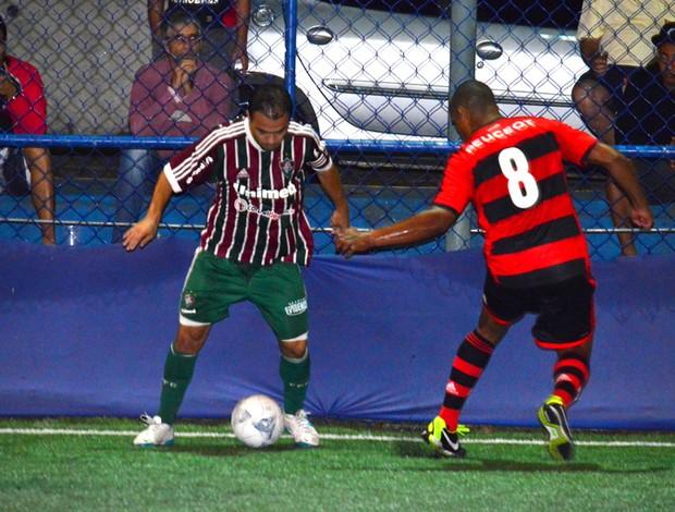 Flamengo e Fluminense futebol de 7 (Foto: Joaquim Azevedo / JornalF7.com)