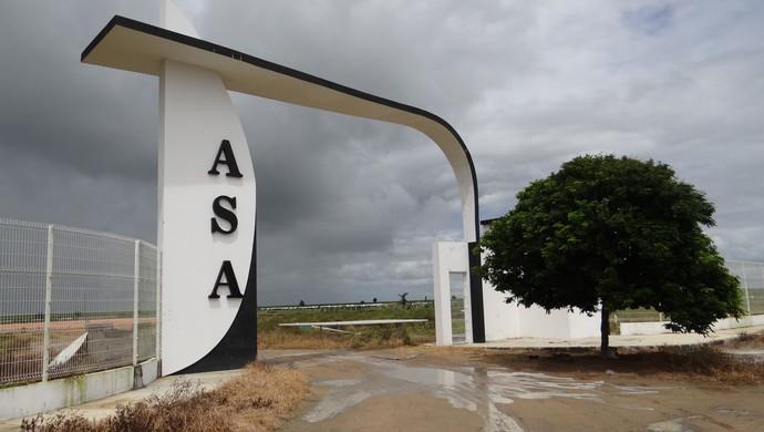 Centro de Treinamento do ASA (Foto: Leonardo Freire/GloboEsporte.com)