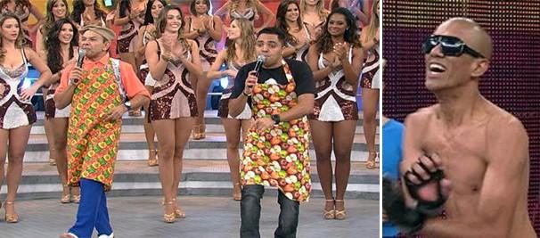 Tirulipa e Papudim contaram com a participação de Anderson Tripa. Conhece? (Foto: Reprodução/TV Globo)
