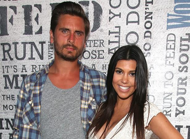 A primogênita das irmãs Kardashians, Kourtney, de 35 anos, está desde 2006 com o empresário Scott Disick, de 31. Eles tiveram seu terceiro filho juntos em dezembro de 2014. Agora há rumores de que estão se separando. Porém nada oficialmente confirmado. (Foto: Getty Images)