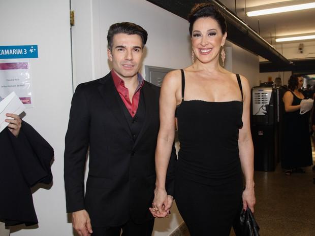 Claudia Raia com o namorado, Jarbas Homem de Mello, em evento em São Paulo (Foto: Marcos Ribas/ Foto Rio News)