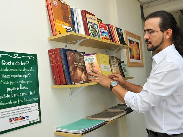 Projeto Biblioteca em Movimento é idealizado pela Defensoria Pública (Foto: Divulgação/Defensoria)