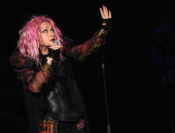 A cantora Cindy Lauper (Foto: Getty Images)