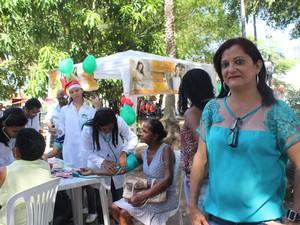 Representante do RPN falou sobre desafios de se viver com Aids (Foto: Catarina Costa / G1)