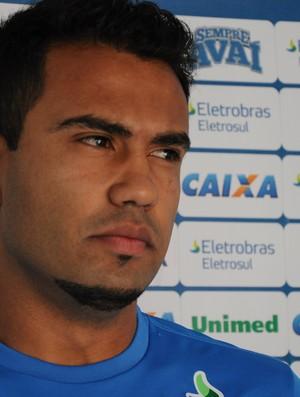Renato Santos, Avaí (Foto: Savio Hermano / GLOBOESPORTE.COM)