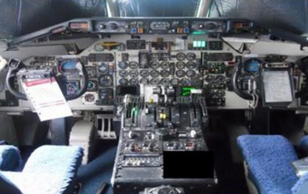 Preço inicial da aeronave foi estipulado em R$ 100 mil (Foto: Reprodução/GSA Auctions)