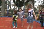 Coxa fez uma festa especial para as crianças no Couto