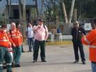 Petroleiros fazem paralisação nos terminais da Baixada Santista