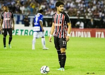 Alexandre Pato São Paulo (Foto: Jonathan Lins/G1)