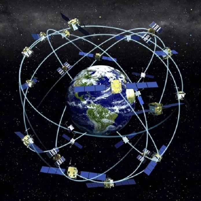 Triangulação de satélites (Foto: Reprodução)
